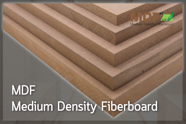 ไม้อัด เอ็มดีเอฟ (MDF: Medium Density Fiber Board)