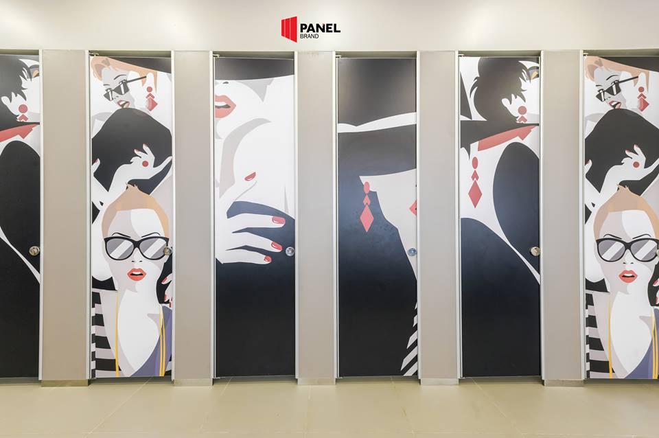 ผนังห้องน้ำสำเร็จรูป Panle Brand